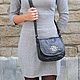 Женские сумки ручной работы. Сумка Лейла-1 черная. Katya Krotova. Ярмарка Мастеров. Сумка черная, натуральная кожа