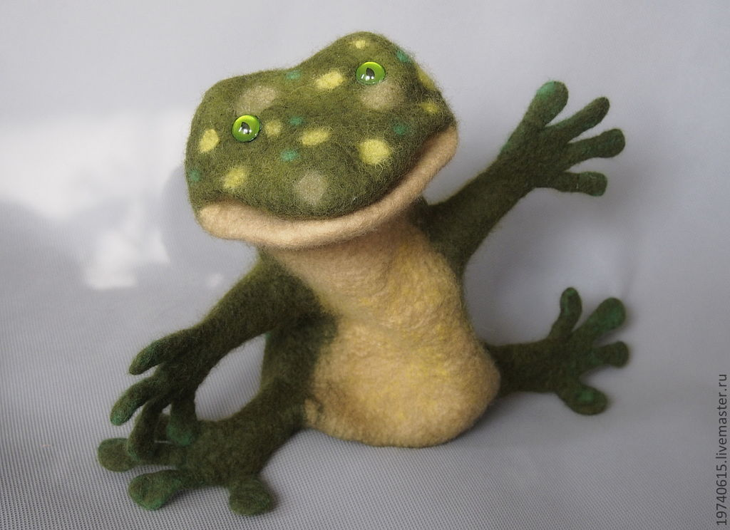 Frog-Wah. Glove puppet, Puppet show, Moscow,  Фото №1