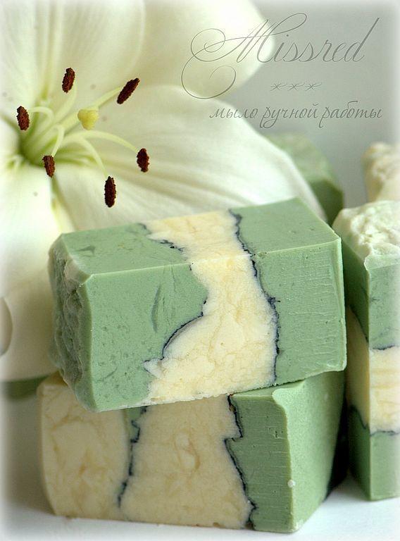 'Green tea'. Natural handmade soap, Soap, Nizhny Novgorod,  Фото №1