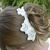 Свадебный салон ручной работы. Ярмарка Мастеров - ручная работа Свадебное украшение для волос. Handmade.