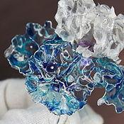 Украшения handmade. Livemaster - original item Silver collectible Iris Brooch, Rita Briali. Handmade.