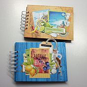 Канцелярские товары handmade. Livemaster - original item Notebook mini album for photos. Handmade.