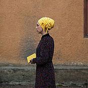 """Одежда ручной работы. Ярмарка Мастеров - ручная работа Пальто вязаное """"Краски осени"""". Handmade."""