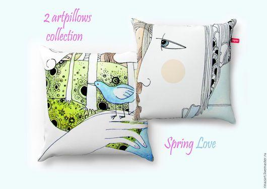 Подарочная коллекция подушек, для ценителей, знающих толк в романтике)