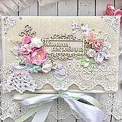 Упаковочная коробка ручной работы. Ярмарка Мастеров - ручная работа Мамины сокровища для двойняшек. Handmade.