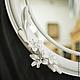 Зеркала ручной работы. Ярмарка Мастеров - ручная работа. Купить консольный столик и зеркало Лилии. Handmade. Белый, качество