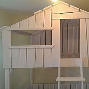 Для дома и интерьера ручной работы. Ярмарка Мастеров - ручная работа Двухъярусная кровать для детей. Handmade.