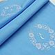 Дорожка с винтажной вышивкой `Флора`  `Шпулькин дом` мастерская вышивки