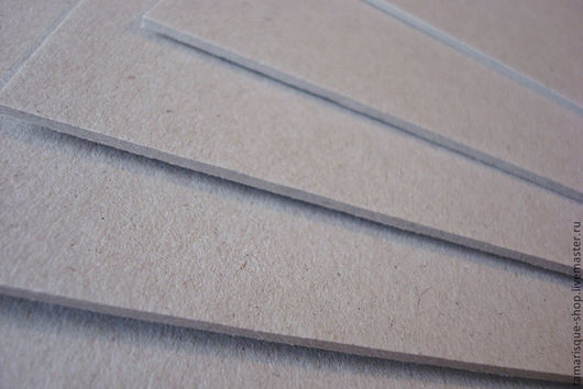 Открытки и скрапбукинг ручной работы. Ярмарка Мастеров - ручная работа. Купить Переплетный картон 1,5 мм 30х30 см. Handmade.
