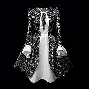 """Одежда ручной работы. Ярмарка Мастеров - ручная работа Платье-Сюртук """"Каллы"""". Handmade."""