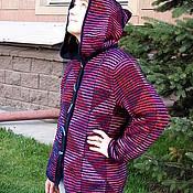 Одежда ручной работы. Ярмарка Мастеров - ручная работа Куртка с капюшоном. Handmade.