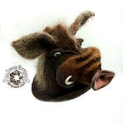 Аксессуары handmade. Livemaster - original item Caps: Hog. Handmade.