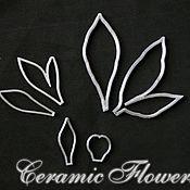 Материалы для творчества handmade. Livemaster - original item A set of cutters Leaves and sepals of Peony, plastic. Handmade.
