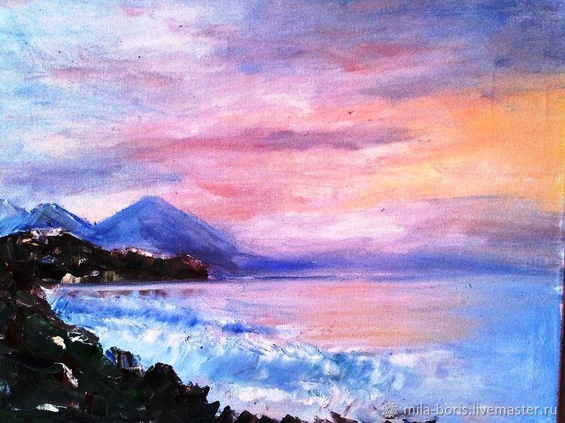 море ранним утром, Картины, Оберхаузен,  Фото №1