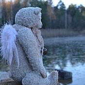 Куклы и игрушки ручной работы. Ярмарка Мастеров - ручная работа мишка тедди Ангел.... Handmade.