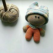Куклы и игрушки ручной работы. Ярмарка Мастеров - ручная работа Вязаный пупс Тим. Handmade.