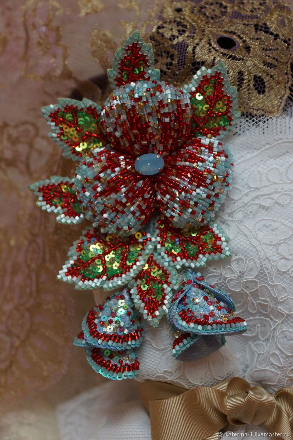 a bunch of Not this spring?, Brooches, Ryazan,  Фото №1