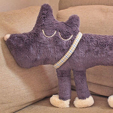 Для дома и интерьера handmade. Livemaster - original item Interior soft toy Sleeping Dog made of fur. Handmade.