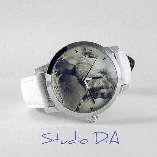 Часы Лошадь. Студия Дизайнерских Часов DIA.