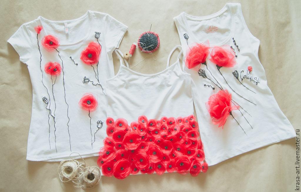 Декор детской футболки своими руками мастер класс 27