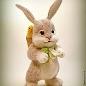Куклы и игрушки ручной работы. Ярмарка Мастеров - ручная работа Пасхальный зайка. Handmade.