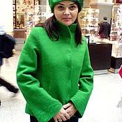 """Одежда ручной работы. Ярмарка Мастеров - ручная работа Пальто """"Emerald"""". Handmade."""