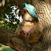 Куклы и игрушки ручной работы. Ярмарка Мастеров - ручная работа Сеня мишка тедди. Handmade.
