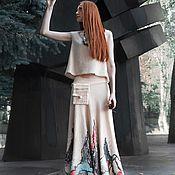 Одежда ручной работы. Ярмарка Мастеров - ручная работа Цветение. Handmade.