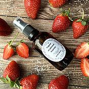 Косметика ручной работы handmade. Livemaster - original item Natural Strawberry Hydrolate. Handmade.