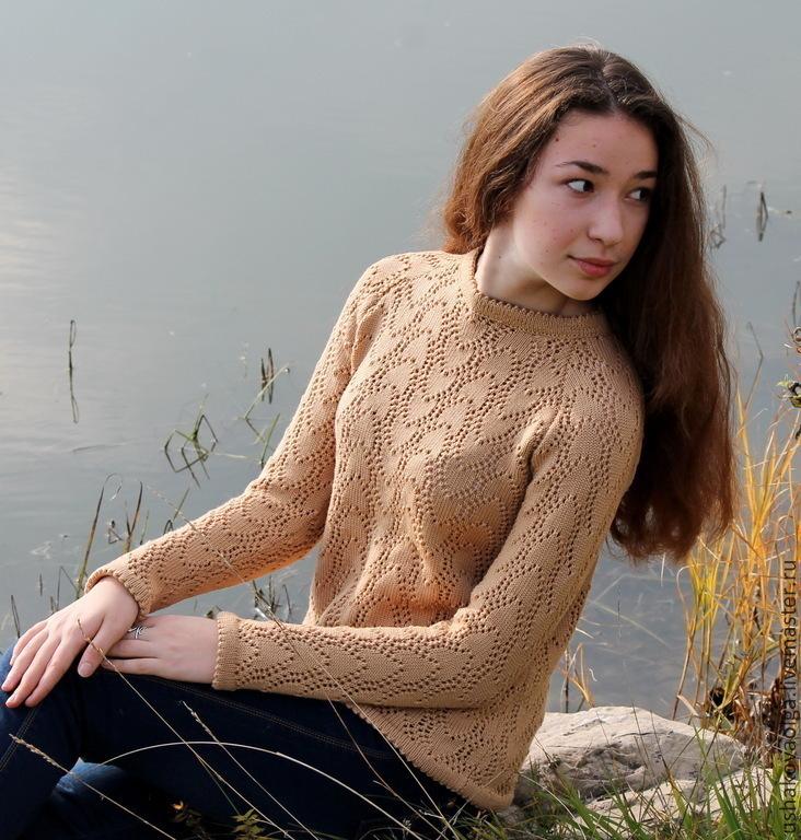 Пуловер из шерсти доставка