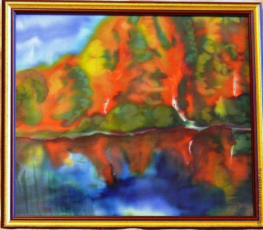"""Пейзаж ручной работы. Ярмарка Мастеров - ручная работа. Купить Картина """"Симфония заката"""". Handmade. Картина, картина для интерьера"""