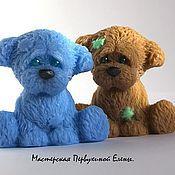 Косметика ручной работы. Ярмарка Мастеров - ручная работа Детское мыло собачка. Handmade.