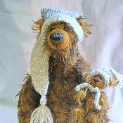 """Куклы и игрушки ручной работы. Ярмарка Мастеров - ручная работа Мишки-тедди """"маМаша и медведик"""". Handmade."""