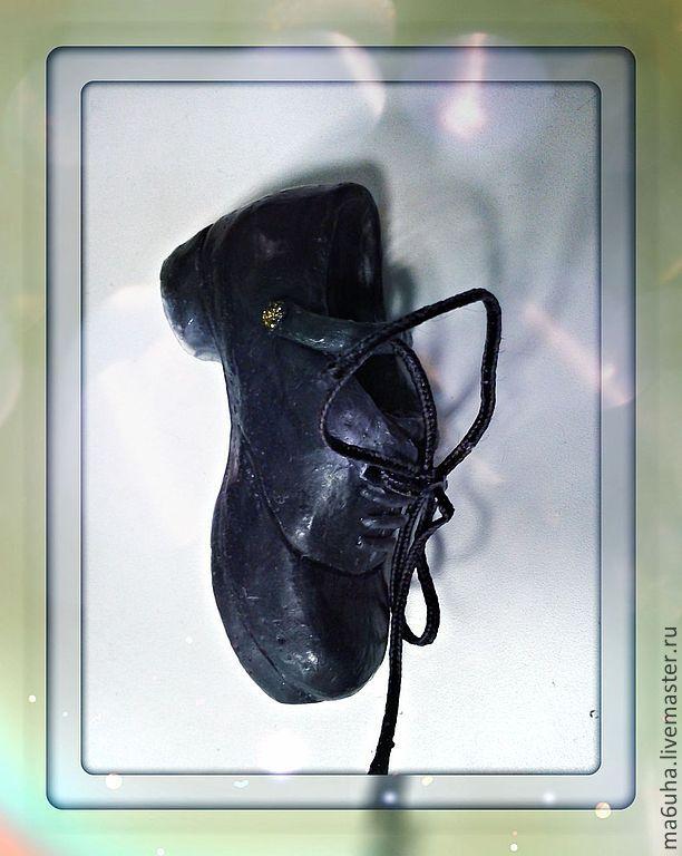 Туфли на пробковой платформе