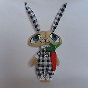 Куклы и игрушки ручной работы. Ярмарка Мастеров - ручная работа Заяц Пьеро. Handmade.