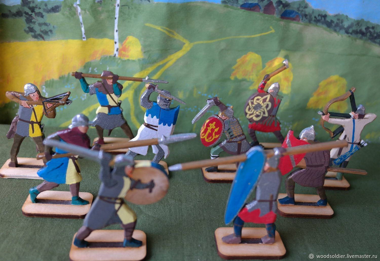 The set of ' the battle of the Neva', Miniature figurines, Izhevsk,  Фото №1