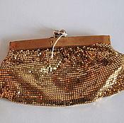 Винтаж handmade. Livemaster - original item Vintage purse/clutch from 1940х, Duramesh. Handmade.
