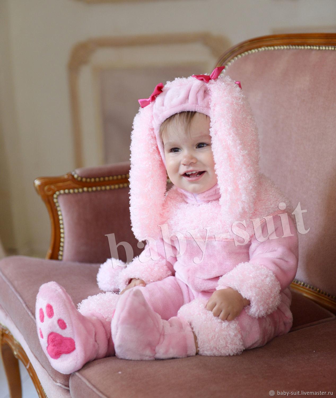 Карнавальный новогодний костюм Пуделя для малышей и детей
