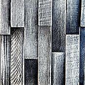 Для дома и интерьера ручной работы. Ярмарка Мастеров - ручная работа декор дверей серии Городской пейзаж. Первый снег. Handmade.