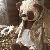 Мишки Тедди ручной работы. Ярмарка Мастеров - ручная работа Панда. Handmade.