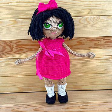 Куклы и игрушки ручной работы. Ярмарка Мастеров - ручная работа Кукла вязаная. Handmade.