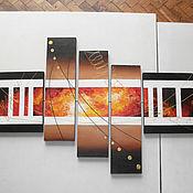 """Картины и панно ручной работы. Ярмарка Мастеров - ручная работа Картина """"Металл"""". Handmade."""