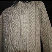"""Одежда ручной работы. Ярмарка Мастеров - ручная работа Свитер мужской. """"Араны"""". Handmade."""