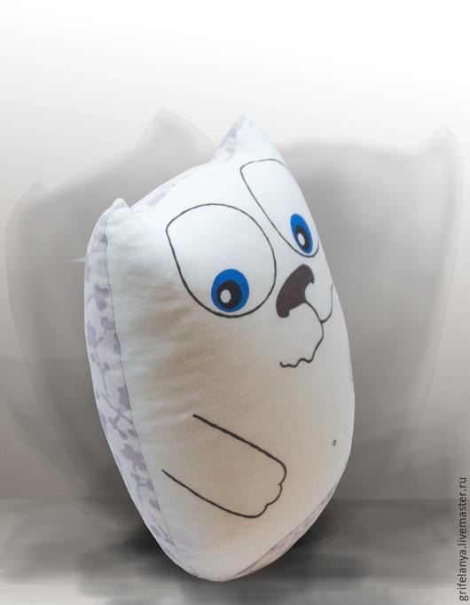 Игрушки животные, ручной работы. Ярмарка Мастеров - ручная работа. Купить Игрушка-подушка кот Мармадьюк. Handmade. Подушка-игрушка