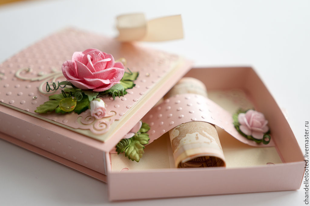 Handmade Card Box Wedding Card Box Birthday Card Box Magic Box