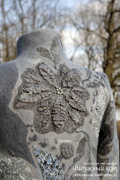 """Верхняя одежда ручной работы. Ярмарка Мастеров - ручная работа. Купить Арт-пальто №2 """"Ручьи"""". Handmade. Пальто"""