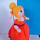 Кукла-перевертыш Золушка. Очаровательная принцесса. вязаные игрушки