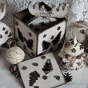 """Подарки к праздникам ручной работы. Ярмарка Мастеров - ручная работа Короб """"Винтаж"""". Handmade."""