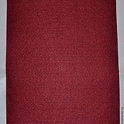 Материалы для творчества handmade. Livemaster - original item The soft felt sheet 1 mm 20 x 30 color Burgundy YF617. Handmade.