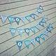 """Праздничная атрибутика ручной работы. Ярмарка Мастеров - ручная работа. Купить Гирлянда""""С Днем рождения"""" морская для мальчика, надпись может быть др.. Handmade."""